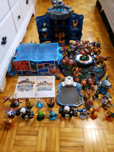 Wii Skylanders Giants and Swap Force Game Bundle
