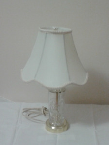 Pinwheel Glass Lamp