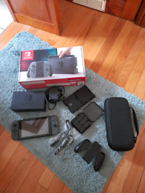 Nintendo Switch Grey 32GB with accessories