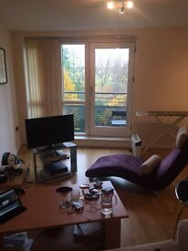 Short-term rent one bed flat in Aspect 14, LS2