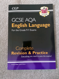 CCP GCSE AQA English language revision and practice guide