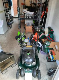 Hayter R53S petrol lawnmower