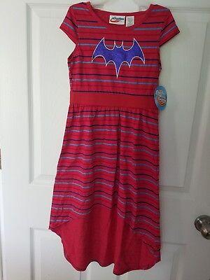 Little Girl Superhero (DC Super Hero Batgirl Little Girls Short Sleeve HiLo Maxi Dress)