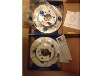 Bmw E46 COMLINE ADC1723V - Brake Disc set
