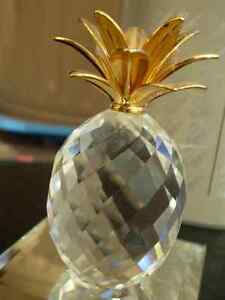 "Swarovski Crystal Figurine - "" Pineapple "" 7507NR Kitchener / Waterloo Kitchener Area image 4"