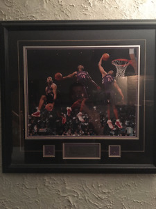 Vince Carter 2000 Dunk Contest Poster Board