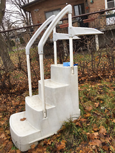 Pool Filter, Heater and Accessories for Above-Ground Pool - OBO!