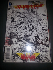 Justice league #22 and #23 1:00 variant
