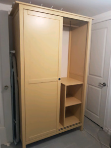 IKEA Hemnes Wardrobe Yellow