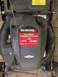 Yard Machines Lawn Mower