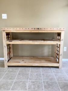 Reclaimed Wood Multi-purpose Table