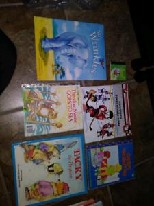 Books 0.25 each