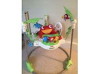 Excellent condition rainforest jumperoo