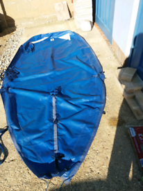 11-12ft boat cover