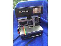 Polaroid 635 super colour camera