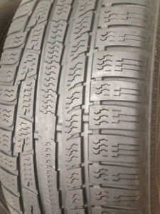 2 Nokian winter tires 225-55-17