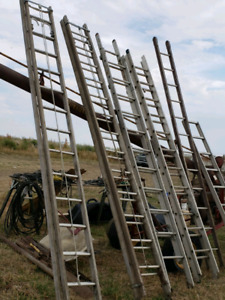 Numerous Sizes Of Ladders