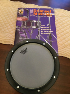 Drumming Practice Pad and Theory Book