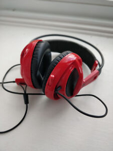 SteelSeries Siberia v2 Gaming Headset, red
