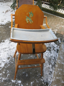 Vintage Baby Dining Chair