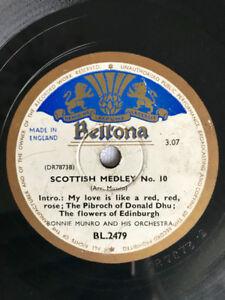 Vintage 78 records