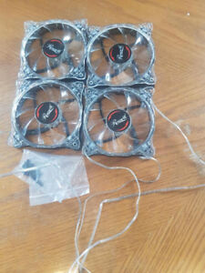 LED Fans and Light Strips