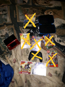 3ds and pokemon omega ruby with case