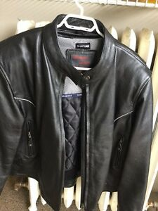 Screaming Eagle leather jacket