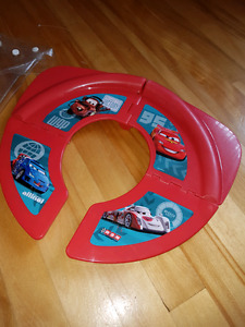 Lightning McQueen Folding Travel Potty Toilet Seat Siege Toilet