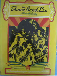 The Dance Band Era, Anthony McCarthy - Book - History