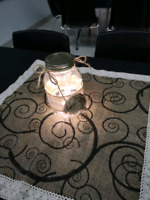 Wedding table centerpieces and decorations