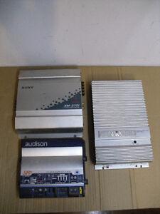 Car Power Amplifiers Sony xm 2751 Kenwood KAC-723 Audison SRx