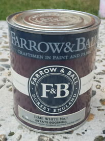 Farrow and ball paint Lime white No.1 750ml