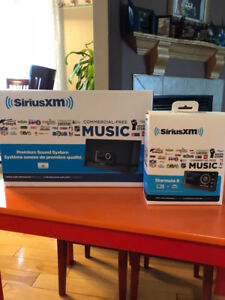 SiriusXM Premium Sound System DOCK and starmate 8 car kit