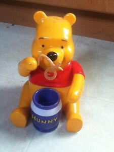 Winnie the Pooh Blowing Bubbles