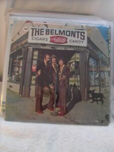 1972-THE BELMONTS-Cigars,Accapella,Candy-Buddah-BDS-5123 LP.