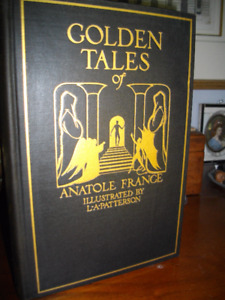 """"""" GOLDEN TALES OF ANATOLE FRANCE """" FIRST EDITION 1927"""