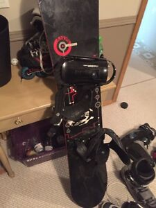 Snowboard boots and board Strathcona County Edmonton Area image 3