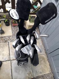 Full set of golf equipment