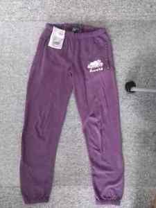 Light purple Woman's Roots sweatpants (size small)
