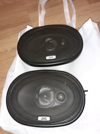 JVC 3 way speakers for car