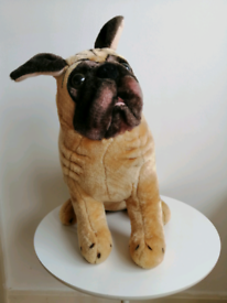 Melissa and Doug large pug soft toy
