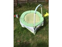 Toddlers hand trampoline