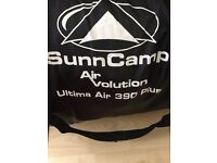Sunncamp Air Volution Ultima Air 390 Plus caravan awning