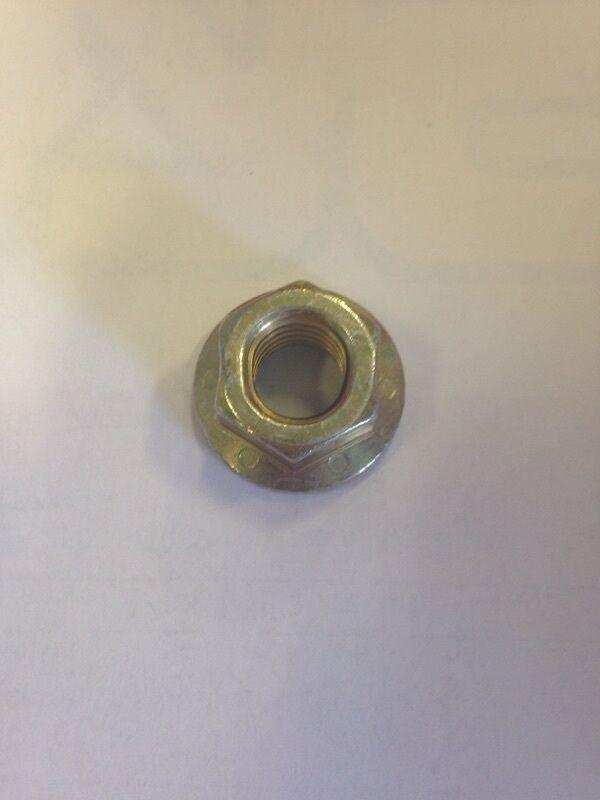 9 7//16-14 Hex Flange Prevailing Torque Top Lock Nuts Grade 8 Zinc Yellow