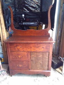 old wash stand