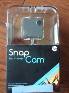 iON SnapCam Wearable HD & Wi-Fi Camera
