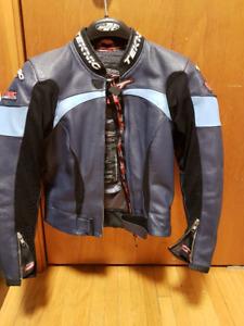 Womans Teknic Leather Racing Suit