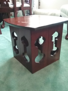 Mahogany end table for sale