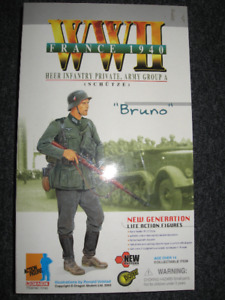 1/6 Scale WWII Dragon Figure '' Bruno '' - France 1940
